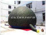 خارجيّ [كمب تنت] قابل للنفخ قبة خيمة في تمويه لون