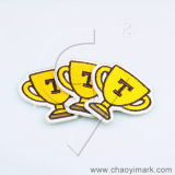 Etiqueta tecida Jrtm do emblema/correção de programa/bordado