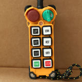 電子Hightの品質6ボタンの二重速度の天井クレーンの無線無線の遠隔コントローラ