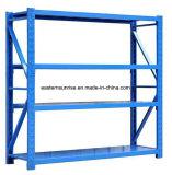 El metal modificado para requisitos particulares de la visualización de la alta calidad deja de lado los buenos estantes del tornillo del estante del mercado