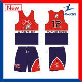 El último diseño de los jerseys de los uniformes del baloncesto de la aduana