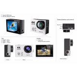 камера спорта WiFi типа героя 4 Gopro регулятора 4k Ultra-HD Kamera Akcja 2.4G дистанционная