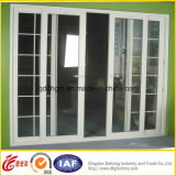 PVC SlidingかCasement Single/Double Tempered Glass Window