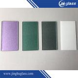 4mm Tempered White Shining Painted Glass for Kitchen Splashback Decoração