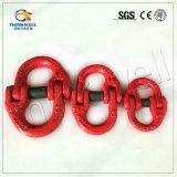 Выкованные соединение цепи G80 стали сплава/звено цепи покрашенные цветом соединяясь
