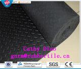 Het Industriële RubberBlad van uitstekende kwaliteit van de Kleur, Antislip Fijn Dun Smal Geribbeld RubberBlad, Beledigd RubberBlad
