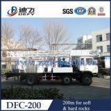 Machine montée par camion de plate-forme de forage de puits d'eau à vendre