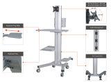 """Монитор рабочей станции передвижного компьютера одиночный установка высоты 10-24 """" (PCM 1201S)"""