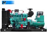 groupe électrogène diesel de Genset de cylindre sans frottoir de cuivre pur de l'alternateur six de 100kw 125kVA
