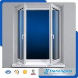 Finestra economica e pratica del PVC di vetro Tempered di Singl