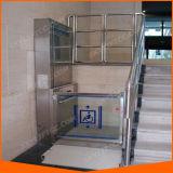 """elevatore verticale della piattaforma 77 """" - 171 """" per uso della casa della sedia a rotelle"""