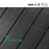 Plancher extérieur en bois en plastique du composé WPC des prix bon marché imperméables à l'eau