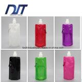 플라스틱 Foldable 물병 경량 재사용할 수 있는 접히는 양수막