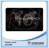 Cartão personalizado do presente do cartão de sociedade do cartão do VIP