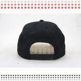 Gorra de béisbol personalizada de los sombreros del Snapback del bordado para las muchachas