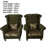 Chaise de Canapé de Tissu de Chaise de Tigre de Haute Qualité (2098)