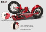 Aviation Aluminum Alloy Frame及びドイツImported 500W Brushless Motor、45km/H Speed、Hot Sale Electric Vehicle.との特許を取られたDesign E-Scooter Jiexg Mini