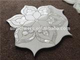 La perla Madre de Shell Mármol, chorro de agua mosaico Azulejos contra salpicaduras