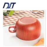 Saudável Diariamente-Usar o copo de madeira da pintura velha natural