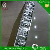 painel colorido PVD inoxidável do favo de mel do aço inoxidável dos materiais de construção do aço 316L para o revestimento da coluna