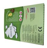 Caja de alta calidad de color verde de papel del paño (YY-1002)