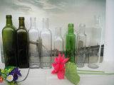 Frascos de vidro redondos quadrados de venda quentes de petróleo verde-oliva