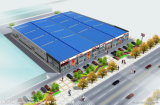 Steel claro Prefabricated Warehouse com Insulation