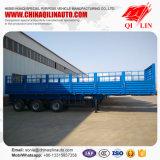 半中国の製造業者40-65t 3の車軸側面の塀のトレーラー