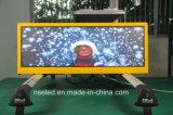 Afficheur LED polychrome extérieur de dessus du taxi P3 pour la publicité