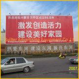 Weg OpenluchtUnipole die dubbel-ZijAanplakbord roteren