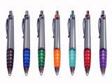 Penna di sfera di plastica promozionale stampata personalizzata