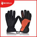 Advertir a luva personalizada do esqui das mãos do Mitten do inverno para o homem e a mulher