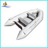 空気マットの床PVCボートまたは漁船のゴム製ボートの漕艇
