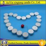 Großhandelspreiswerter Preis 12g weiße Tealight Kerze in der Mehrzwecktasche