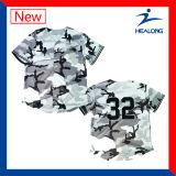 Healongは均一人のソフトボールの野球のジャージのワイシャツをカスタマイズした