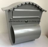 鋼鉄ポストの現代デザイン