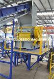 El HDPE embotella la película del PE de los PP de las botellas del yogur de las botellas de leche que recicla la máquina