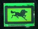 LCD表示は工場供給の白黒をカスタマイズした