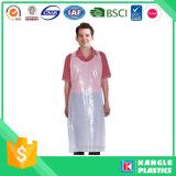 De waterdichte Schort van het Polyethyleen voor Volwassenen