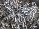 De zee Ketting van het Anker van de Nagel en Mariene van het Schip Studless met CCS, ABS, Lr, Gl, Dnv, Nk, BV, Kr, Rina, RS