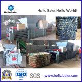 Horizontale hydraulische aufbereitenpresse-Maschine für Plastik/Pappe