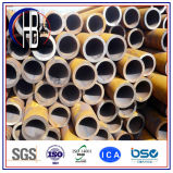 Tubo de acero soldado espiral del carbón SSAW para el servicio líquido, diámetro de 219-3500m m, Q235B, Q345b, Ss400, ASTM A36