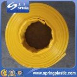 Tuyau flexible flexible en PVC, tuyau de pompe à eau, flexible Layflat