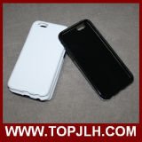 caso protegido doble de la sublimación 3D para el iPhone 4/4s