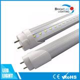 2015 경쟁가격을%s 가진 최신 판매 고품질 높은 광도 T8 LED 관 빛