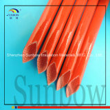 4.0kvシリコーンゴムの上塗を施してあるガラス繊維のスリーブを付けるシリコーンのガラス繊維の袖