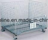 Almacén galvanizado Malla de alambre soldado jaula del almacenaje