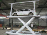 La Cina Underground Car Parking Lift con Roof