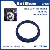 Cnc-ABS Plastiknaben-zentrale Ringe