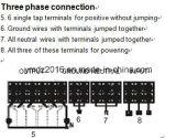6チャネルDMXの調光器のパック(壁のタイプ)